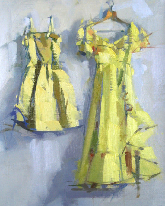 Two Yellow Dresses
